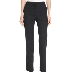 Oscar de la Renta NWT Navy High Waisted Pants 12